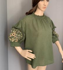Zara zelena košulja