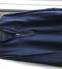 Modra košulja sa patentom