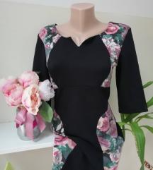 Haljina sa cvijetnim uzorkom