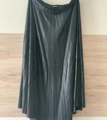 Kožna suknja Tom Tailor