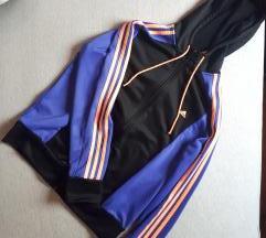 Adidas crno-plava trenirka