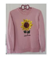 Pamučna suncokret majica