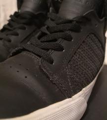 Supra crne kožne visoke tenisice