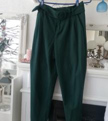 Zara hlače zelene