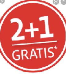 2+ 1 gratis