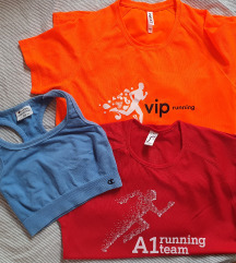 Majice i top za trčanje, lot