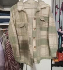 Zelena košulja jakna