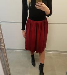 Nova Zara kožna suknja/uključena PT