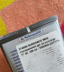 SUNDANCE MEN prozirni gel za sunčanje SPF 50