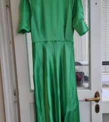 Asos zelena midi haljina s etiketom