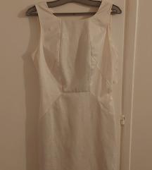Naf naf prekrasna snjezno bijela haljina
