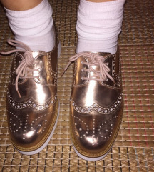 Tosca Blu kožne oxford cipele
