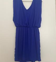 Naf Naf svecana plava haljina