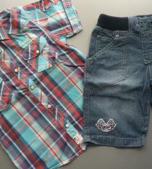 122 Lindex - OVS ljetni lot košulja i kratke hlače