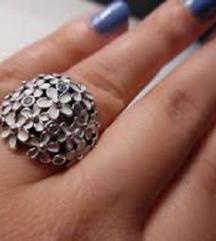 Original Pandora Daisey prsten