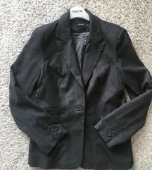VeroModa sivi oversized sako blazer vel 42 M-L
