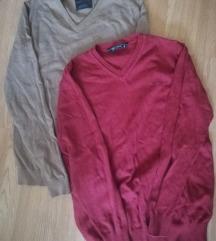2 muska pulovera s vel