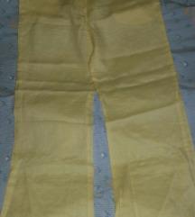 Žute hlace od lana vel.xl
