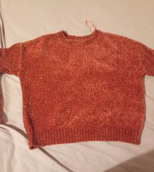Sinsay džemper od chenille pletiva