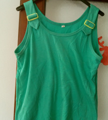 Zelena majica bez rukava