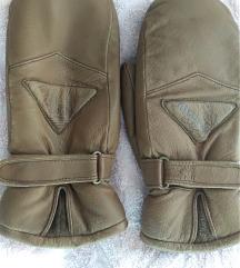 Kožne ski rukavice Thinsulate
