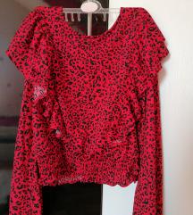 Bershka leopard košulja