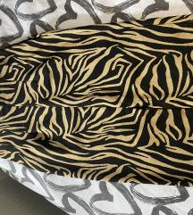 Stradivarius suknja zebra uzorak L velicina 80 kn