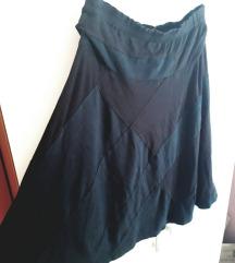 Crno-smedja suknja Ana Kras