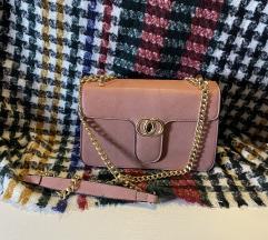 Prljavo roza torba