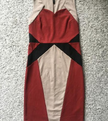 Bodycon pencil haljina od viskoze vel 36