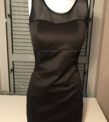 Crna kratka haljina NOVO
