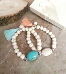 Narukvice s kamenim perlicama ✨💖.