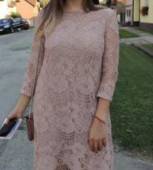 H&M čipkasta haljina