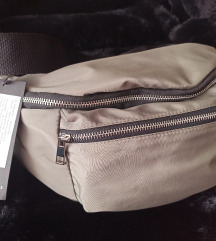 Nova torba za oko struka maslinasto zelena