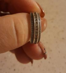 Srebrni prsten 2 cm