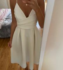 Asos bijela svečana haljina