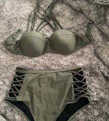 Maslinasto zeleni bikini. sniženo!