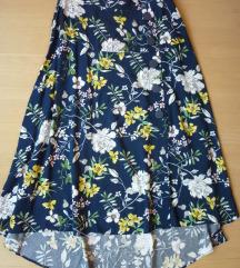 Nova NY asimetrična suknja visokog struka, S