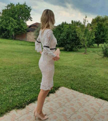 Haljina od bijele čipke by Ivana Pasinek S/M