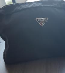 PRADA kozmetička torbica crna