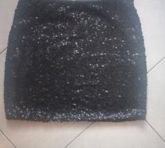 Suknja HM na šljokice