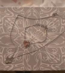 Set lančić i narukvica nehrđajući čelik