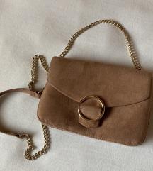 Prljavo roza torbica H&M