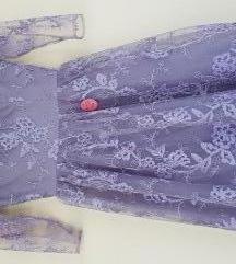 Haljina ljubičasta