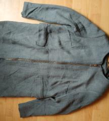 SNIZENO 50% Novi H&M sivi kaput, vel. 44