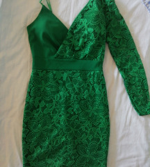 Cipkasta zelena haljina XS/S * DANAS 50kn