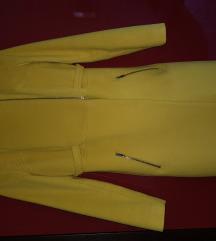 Žuti Stefanel kaput