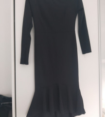 Midi uska haljina