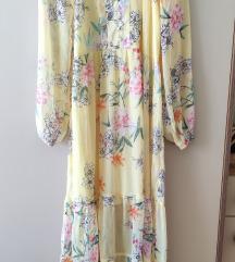 Lindex yellow dress