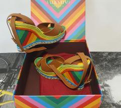 Valentino multicolored wedges size 38.5